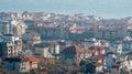 Top view Saint Vlas, Bulgaria Royalty Free Stock Photo