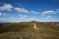 Top of the World Highway Royalty Free Stock Photo