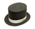 Tophat view at the isolated on the white Royalty Free Stock Photos