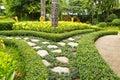 Topiary ogrodowa design sztuka Zdjęcie Royalty Free