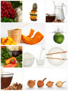 Topic food Stock Image