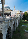 Topkapi palace on august in istanbul turkey turista the was transformed into museum Stock Images