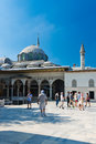 Topkapi palace on august in istanbul turkey turista the was transformed into museum Stock Photography