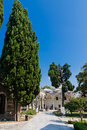 Topkapi palace on august in istanbul turkey the was transformed into museum Royalty Free Stock Images