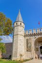 Topkapi palace the gate of salutation istanbul turkey september and tourists visiting is largest and oldest Stock Photo