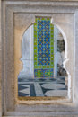 Topkapi palace istanbul decorations detail from the in Stock Photos