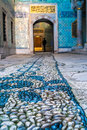 Topkapi palace istanbul decorations detail from the in Royalty Free Stock Photography