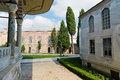 Topkapi palace in istanbul turkey Royalty Free Stock Image
