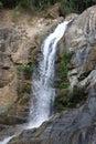Tor tip waterfall kang kra jan national park of thailand Royalty Free Stock Image