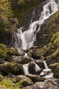 Torc waterfall killarney county kerry Royalty Free Stock Photos
