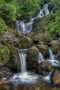 Torc waterfall is located km from the town of killarney in co kerry ireland Royalty Free Stock Image