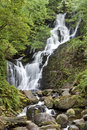 Torc waterfall in National Park Killarney, Ireland Royalty Free Stock Image