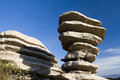 Torcal de antequera south of spain Stock Photography