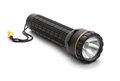 Torch flashlight white background Royalty Free Stock Image