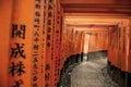 Tori gate in Japan Royalty Free Stock Photo