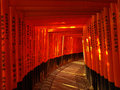 Torii Gate at Fushimi Inari Shrine Royalty Free Stock Photography