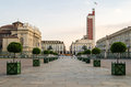 Torino piazza castello and palazzo madama turin Stock Images