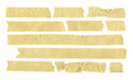 Torn Masking Tape Royalty Free Stock Photo