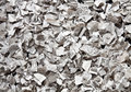 Torn newspaper broken into small pieces of newsprint recycling Royalty Free Stock Photos