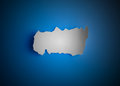 Torn piece of paper Royalty Free Stock Photo