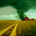 Tornade Photographie stock
