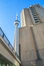 Toronto  buildings Royalty Free Stock Photo