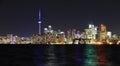 Toronto city waterfront Royalty Free Stock Photo
