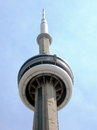 Toronto CN Tower 2007 Royalty Free Stock Photo