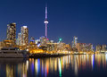 Toronto Downtown at Dusk Royalty Free Stock Photo