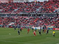 Toronto FC at home to San Jose Royalty Free Stock Photography