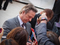 Toronto international film festival september actor chris cooper signs autograph for fans at the for his new august Stock Photography