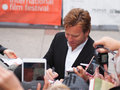 Toronto international film festival september actor ewan mcgregor signs autograph for fans at the for his new august Royalty Free Stock Photography