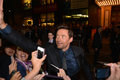 Toronto international film festival september actor hugh jackman meets fans at the for his new prisoners on september Stock Image