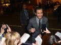 Toronto international film festival september actor jake gyllenhaal signs autographs at the for his new prisoners on Stock Photo