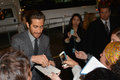 Toronto international film festival september actor jake gyllenhaal signs autographs at the for his new prisoners on Stock Photos
