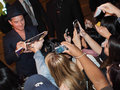 Toronto international film festival september actor jude law signs autographs for fans at the for her new dom Stock Images