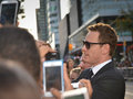 Toronto international film festival september actor michael fassbender signs autograph at the for his new years a Stock Photos