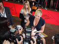 Toronto international film festival september actress kate winslet signs autographs for fans at the for her new labor Stock Image
