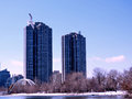 Toronto Lake Humber Bay 2017 Royalty Free Stock Photo