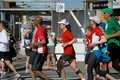 Toronto marathon may more than runners and walkers take part in the th annual goodlife fitness on may Stock Photos