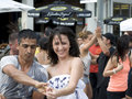 Toronto`s Latin Festival, Dancing Royalty Free Stock Photography