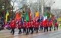 Toronto santa claus parade canada th november participants taking part in the in Stock Photos