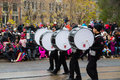Toronto santa claus parade canada th november participants taking part in the in Stock Image