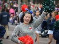 Toronto santa claus parade november people attend th in canada on november Royalty Free Stock Photo