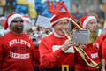 Toronto santa claus parade november people attend th in canada on november Stock Photos