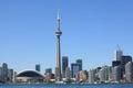 Toronto skyline Royalty Free Stock Photo