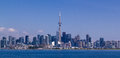 Toronto skyline canada under a clear sky Stock Photography