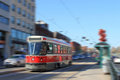 Toronto streetcar transportation Royalty Free Stock Images