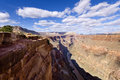 Toroweap point in late afternoon grand canyon national park az Royalty Free Stock Image