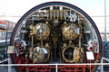 Torpedo room section of TCG Canakkale (S-341) subm Stock Photography